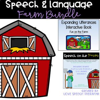 Farm Themed Speech & Language Activities