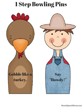 Farm Themed Speech Therapy Activities