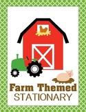 Farm Themed Stationary