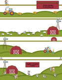 Farm Theme Border and Stationery Pack