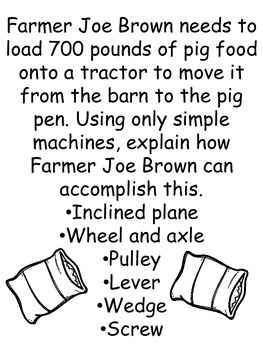Farm Themed Stem Challenges