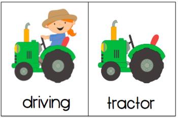 Farm Themed Verb + Noun Phrases