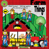 Farm Things ClipArt Set