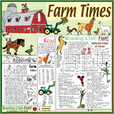 Farm Times Pack (Farms, Crops, Animals – Puzzles and Exclu