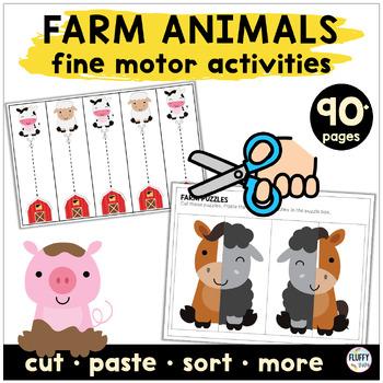 Preschool Center - Farm Themed Activity : 14 Centers for Preschool & PreK