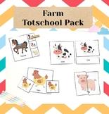 Farm Totschool Pack | Toddler Curriculum | Toddler Games |
