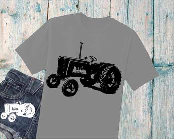 9c0db7ea8 Farm Tractor SVG Cutting Files Clip Art cars Father's Day dad boy old ...