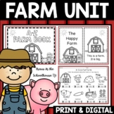 Farm Unit - Activities, Graphic Organizers, Research, and More!