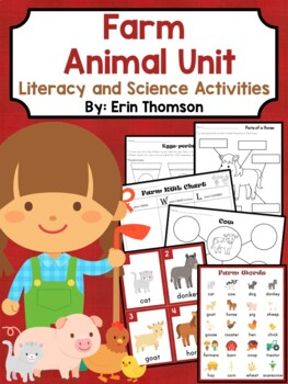 Farm Unit ~ Literacy and Science Activities