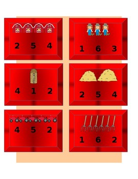Farm Unit Beginning Sounds and Counting/Number Recognition Clip Cards