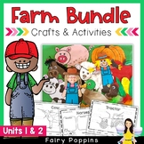 Farm BUNDLE - Crafts & Worksheet Activities