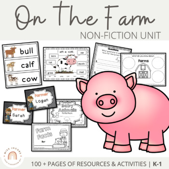Farm Unit  - Printables and Activities