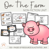 Farm Unit  - Printables and Activities | Distance Learning