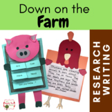 Farm Unit {CCSS Research, Writing, ELA Thematic Unit} K - 3rd