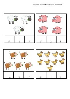 Farm Unit- Literacy and Numeracy Activities