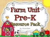 Farm Unit Pre-K Resource Pack