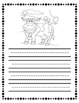 Farm Unit Writing Template