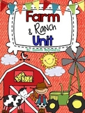 Farm Unit {and Ranch} Literacy, Math & More!