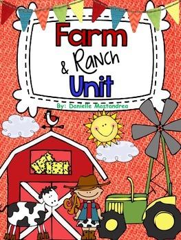 Farm Unit {and Ranch} Literacy, Math & More!