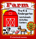 Farm Mini-Unit for Pre-K and Kindergarten