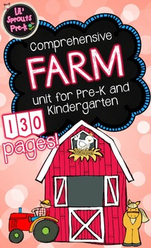 Farm Unit for Pre-K and Kindergarten with Printables and A