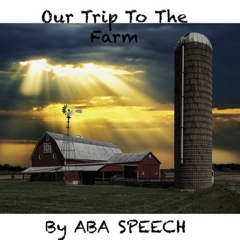 Farm Visit Adapted Book