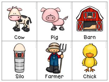 Farm Vocabulary & Comprehension Activities