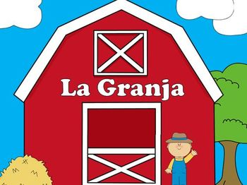 Farm Vocabulary Words - SPANISH