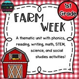 Farm Week: A Thematic Unit for 1st Grade