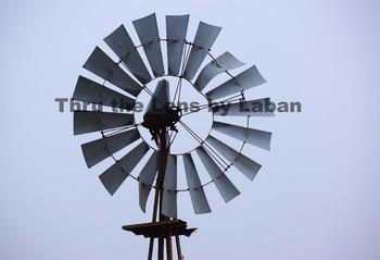 Farm Windmill Stock Photo #54
