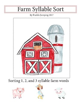 Farm Word Sort