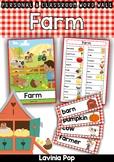 Farm Word Wall