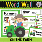 Farm Word Wall