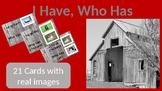 I have, Who Has? Farm Cards