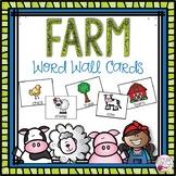Word Wall Cards: Farm