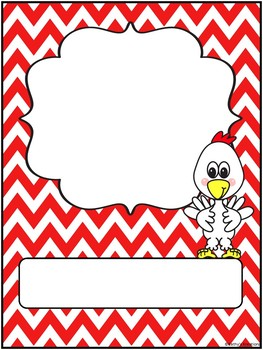 Farm Word Wall Letters, Editable Binder Cover & Desk Plates