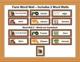 Farm Word Wall Updated