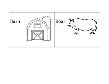 Farm Words Dictionary