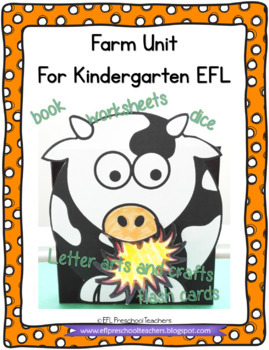 Farm Worksheets and more for the Preschool ELL
