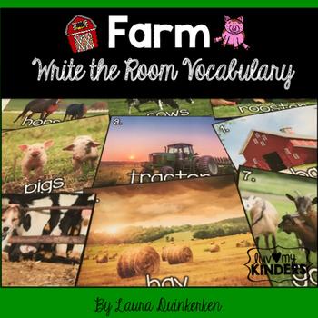 Farm Write The Room Vocabulary