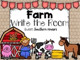 Farm Write the Room Activities