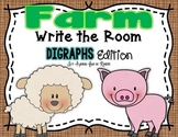 Farm Write the Room - Beginning Digraphs Edition