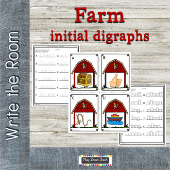 Farm Write the Room Initial Digraphs