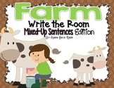 Farm Write the Room - Mixed-Up Sentences Edition
