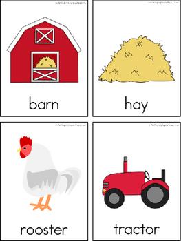 Farm Writing Center Tools: Theme Words