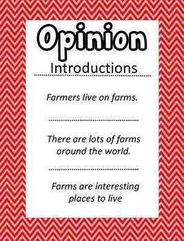 Farm Writing Informative Opinion Narrative CCSS