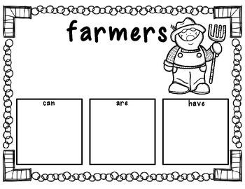 Farm Writing Pack- Freebie
