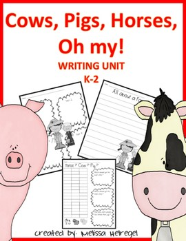 Farm Writing Unit K-2