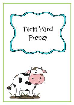 Farm Yard Learning Theme