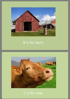 Farm alphabet reading pack
